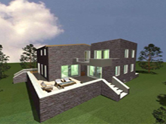 New build stone house nea the City of Kalamata