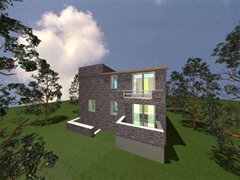 New build stone house in Argolida